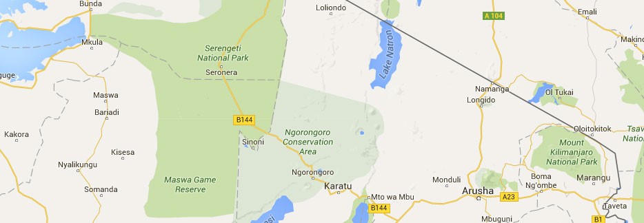 tanzania national parks northern zone