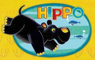 Hippo tinga tinga tales DVD character