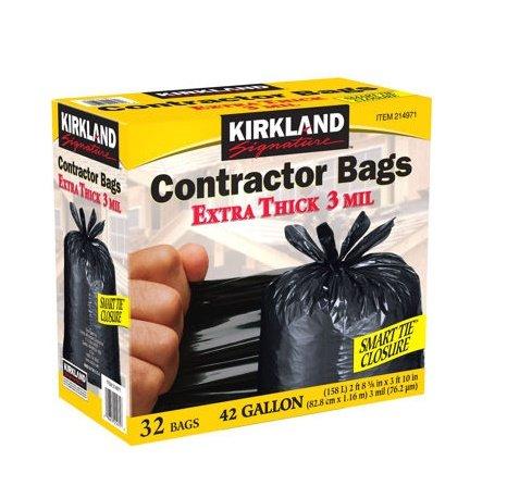 Kirkland Contractor bags