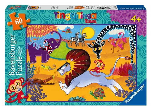 Tinga tales Lion Pieces Puzzle