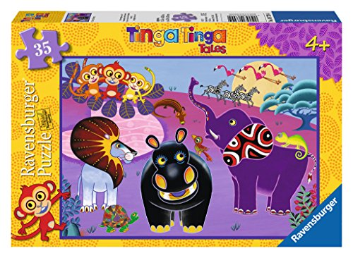 tinga tales monkey pieces puzzle