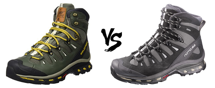 salomon quest origins vs quest 4d